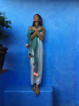 Taiana Design Felted Merino Wool Dreadlocks textiles handmade women