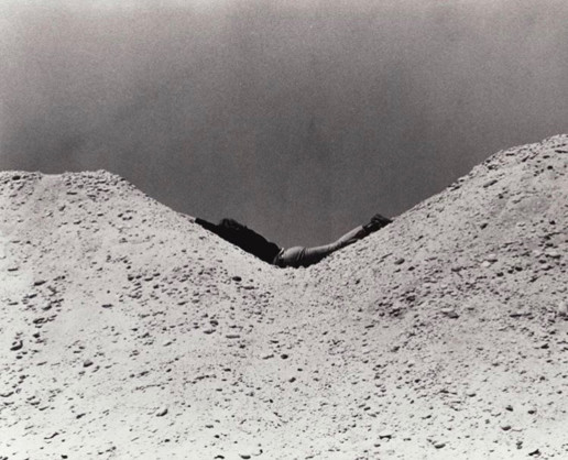 'Parallel Stress' Dennis Oppenheim 1970 Tate